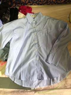 [3 FOR $10] blue blouse