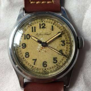 40s Tissot bumper watch