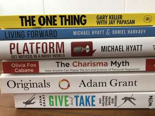 Personal development and self-management books