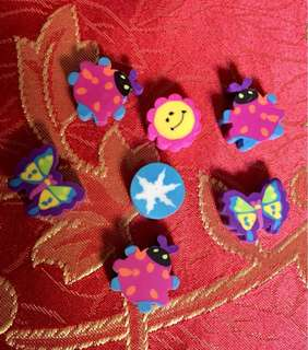 Colorful Erasers for Kids