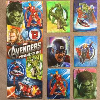 The Avengers (2012 film) Prismatic Stickers