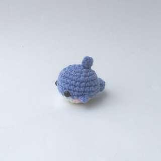 PLUSHIE: Tiny Dolphin (Crochet Amigurumi)