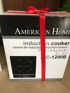 AMERICAN HOME INDUCTION COOKER
