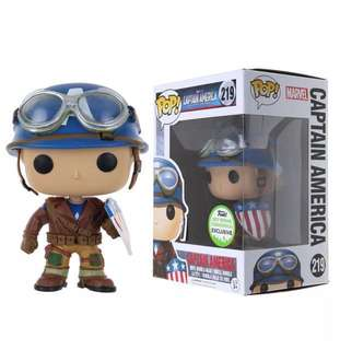 Funko Pop Captain America ECCC 2017 Spring Exclusives