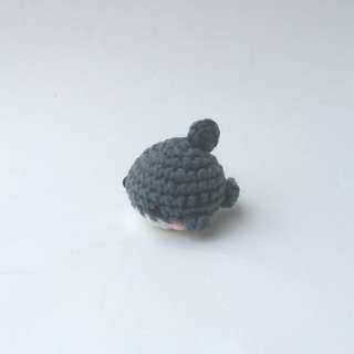 PLUSHIE: Tiny Shark (Crochet Amigurumi)