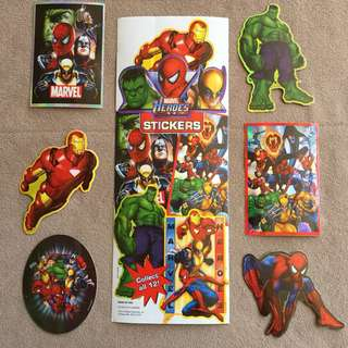Marvel Heroes Prismatic Stickers