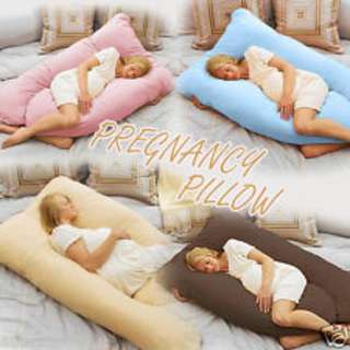 U Shaped Full Cotton Pregnancy Support Pillow Brand New