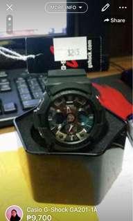 G-Shock GA201-1A