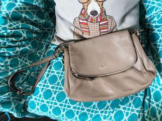 Kate Spade khaki sling bag