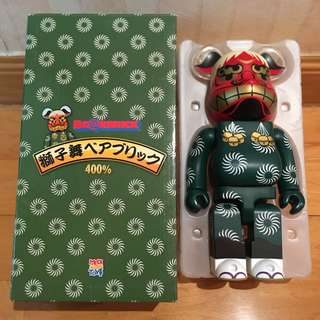 Bearbrick 400% 獅子舞 Skytree Bear Be@rbrick Toy Figure Art Rabbrick R@bbrick Nyabrick Ny@brick 模型 擺設 收藏品 膠玩具