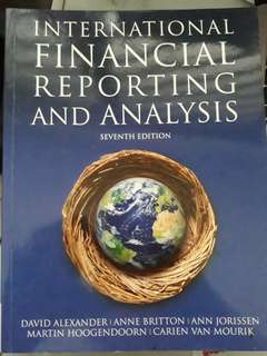 Financial reporting 7th ed