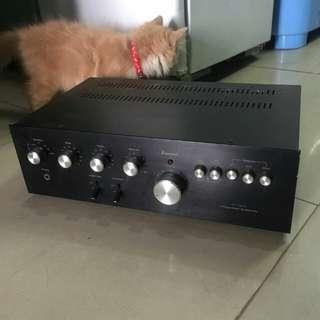 Ampli Sansui, Mulus, Integrated Amplifier