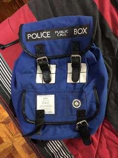 Doctor Who Tardis Backpack