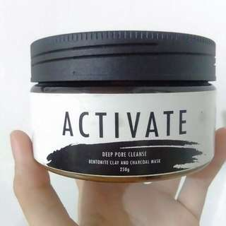 Activate (Bentonite and Charcoal Mask)