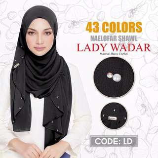 Naelofar Lady Warda Shawl