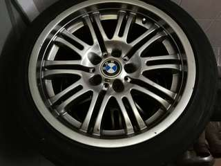 Original BMW M3 Sport Rim x 4 (Good Condition)