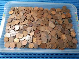Singapore 1 Cent Coin ( 600X pieces available )