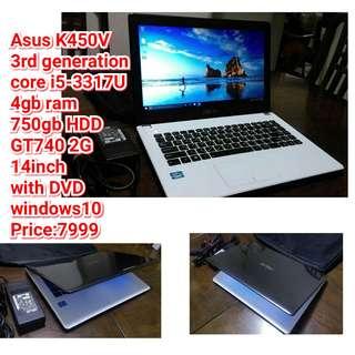 Asus K450V  core i5-3317U