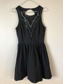 Dotti Sequin Mesh front Dress