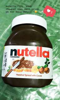 Nutella750g