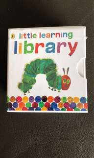 BRAND NEW IN BOX: THE VERY HUNGRY CATERPILLAR: LITTLE LEARNING LIBRARY by Eric Carle