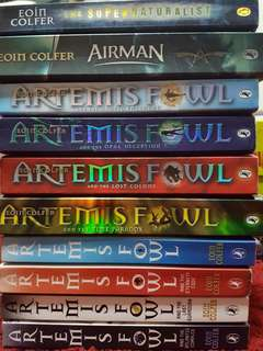 Eoin Colfer(Artemis Fowl series/other titles)