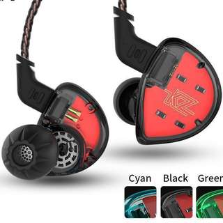 💋ES4 Balanced Armature With Dynamic In-ear Earphone BA Driver Noise Cancelling earphone