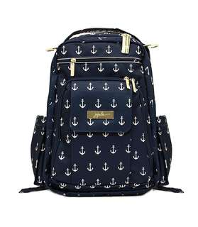 Jujube Legacy Nautical Collection Be Right Back Backpack Diaper Bag, The Admiral