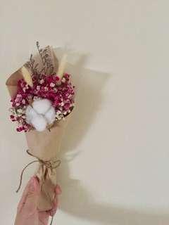 Dried Cotton Flower bouquet