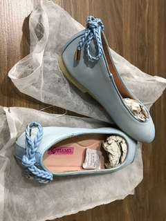 Tiamo Flat Shoes - Baby Blue  - Never been use