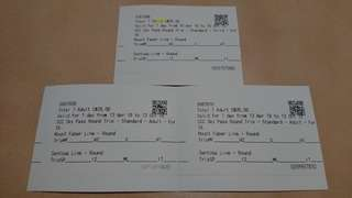 Sentosa cable car ticket