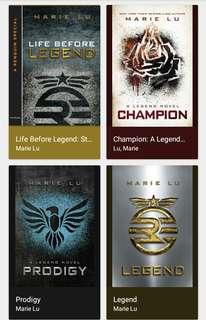 Legend Trilogy by Marie Lu Epub