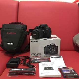 FOR SALE EOS 750D Kit BANYAK BONUS