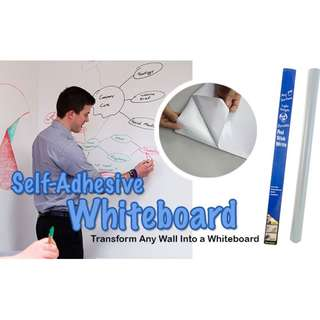 Self-Adhesive Whiteboard Wall Sticker Brand New