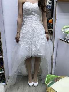 前短後長婚紗 Pre-Wedding Size S