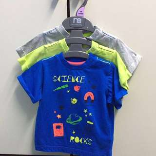 Mothercare Set Of 3 Babyboy Shirt