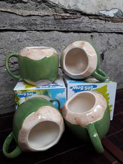 """Mug """"Kelapa Ijo"""" Fine Porcelain"""