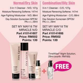 marykay timewise offer