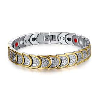 Energy Magnetic Stones Health Bracelet scales style
