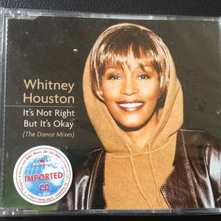 Whitney Houston It s Not Right But It s Ok