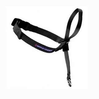 PetSafe Gentle Leader Head Collar with Training DVD, MEDIUM 25-60 LBS., BLACK