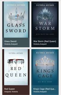 Red Queen Series by Victoria Aveyard Epub