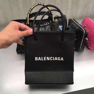 2018 年新款 balenciaga shopping tote bag / crossbody