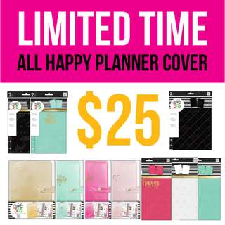 SALE! HAPPY PLANNER COVER