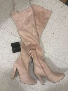 Brand new Forever 21 thigh boots