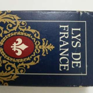 Vintage Playing Card Lys De France