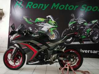 Ninja 250 fi abs th 2016 superrb cash/kredit