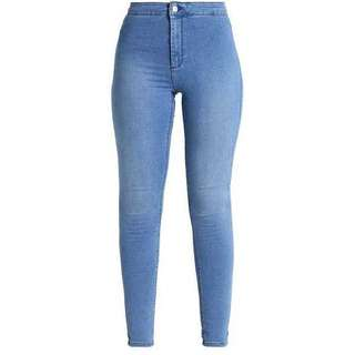 Classic Blue High Waist Pants