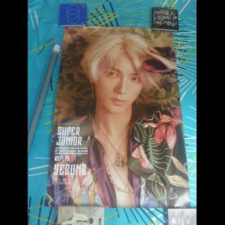 WTS SJ YESUNG POSTER