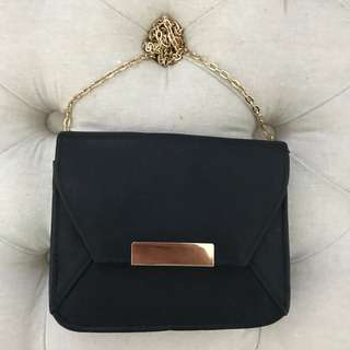 BRAND NEW BLACK MINI EVENING BAG